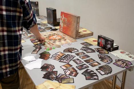 Gry FGH w press roomie na targach Spiel'13 w Essen