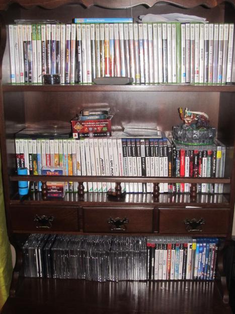 Kolekcja gier na konsole