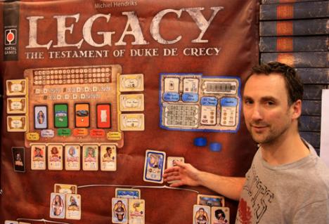 Michiel introduces Legacy at Essen 2013