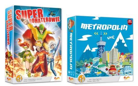 Superbohaterowie i metropolia