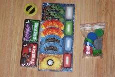 Tezeusz - cards, units and big tokens