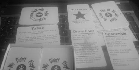 WDPT - cards BW