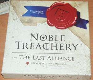 Noble Treachery – box